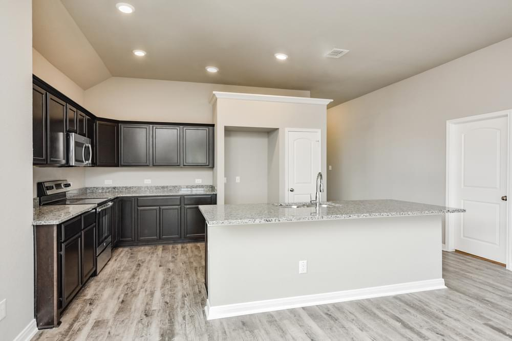 Kitchen featured in the S-1818 By Stylecraft Builders in Killeen, TX