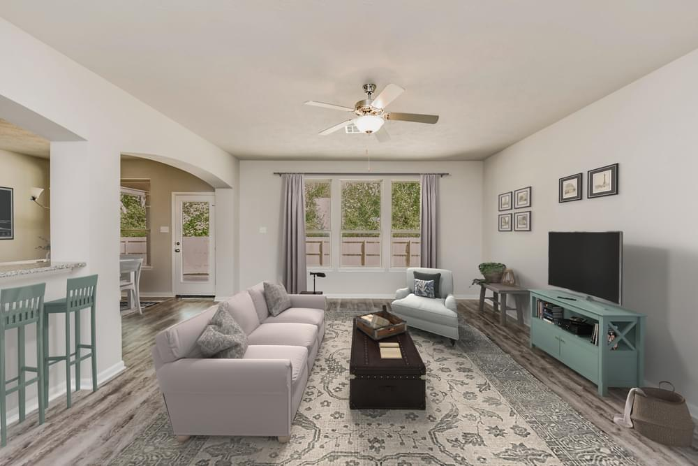 Living Area featured in the 1874 By Stylecraft Builders in Bryan-College Station, TX