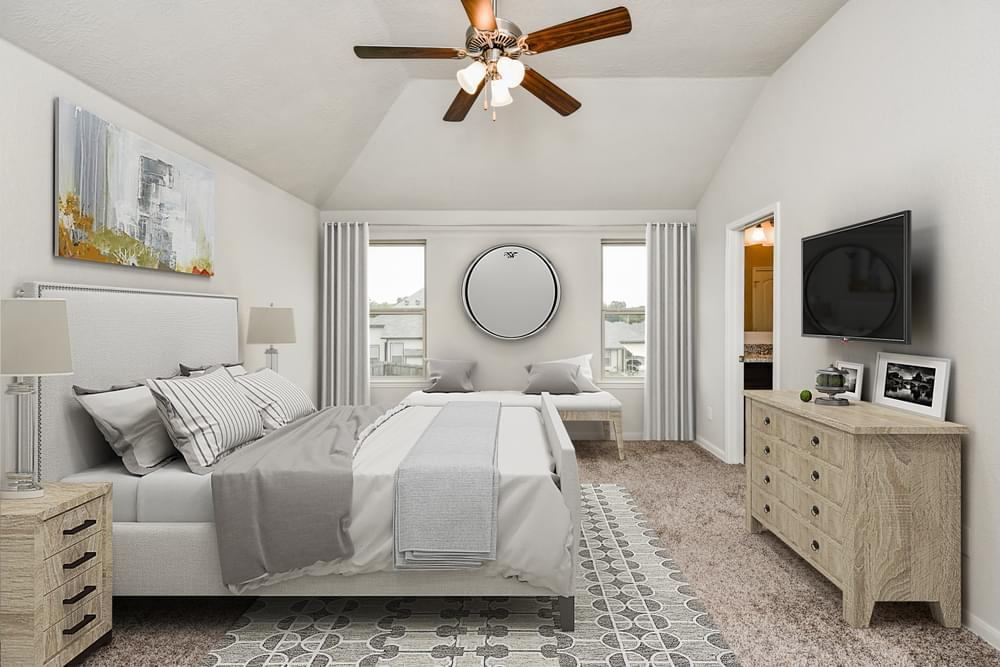 Bedroom featured in the 1874 By Stylecraft Builders in Bryan-College Station, TX