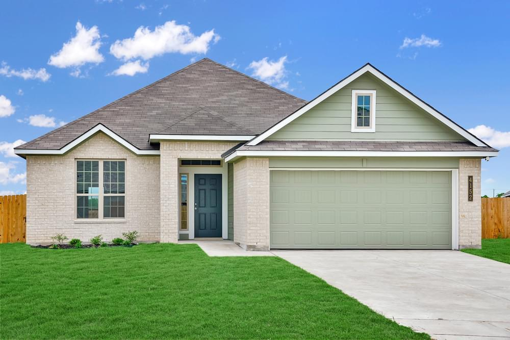 Exterior featured in the S-1613 By Stylecraft Builders in Waco, TX