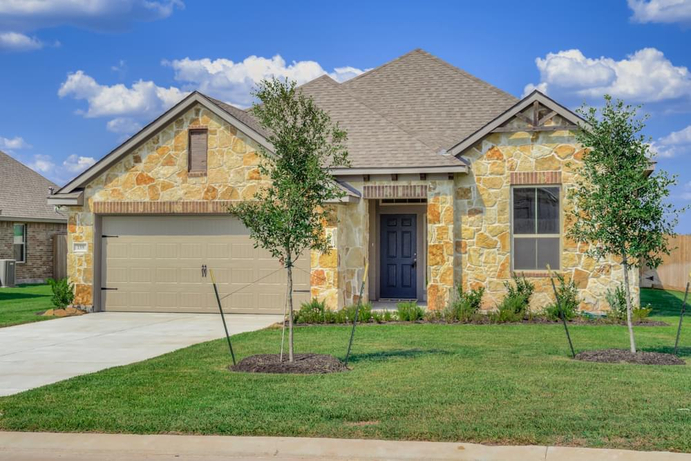 Exterior featured in the 2082 By Stylecraft Builders in Waco, TX