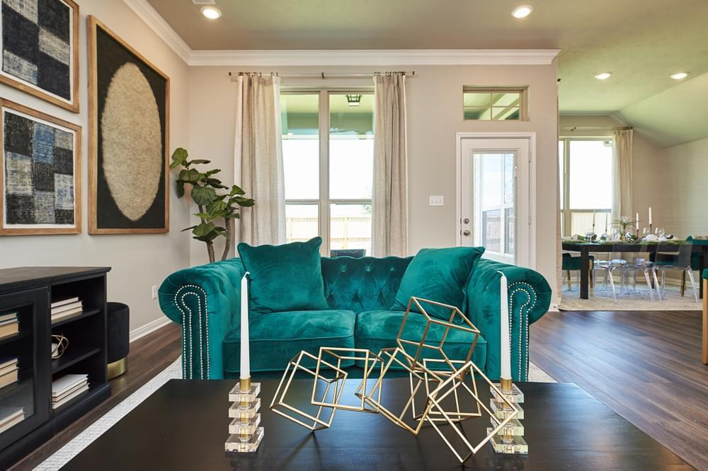 Living Area featured in the Irwin II By Stylecraft Builders in Bryan-College Station, TX