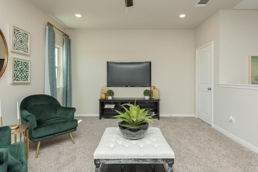 Living Area featured in the Geary II By Stylecraft Builders in Bryan-College Station, TX