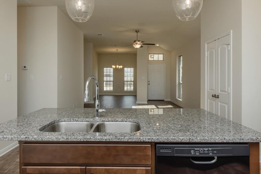 Kitchen featured in the 1475 By Stylecraft Builders in Houston, TX