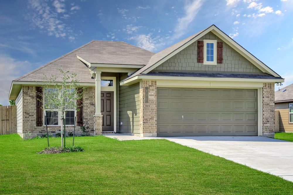 Exterior featured in the S-1443 By Stylecraft Builders in Waco, TX