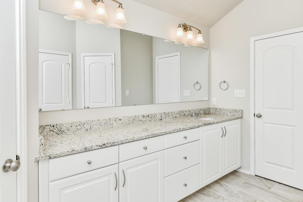 Bathroom featured in the S-1874 By Stylecraft Builders in Waco, TX
