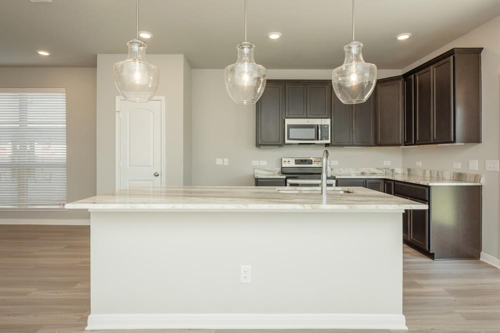 Kitchen featured in the S-2516 By Stylecraft Builders in Houston, TX