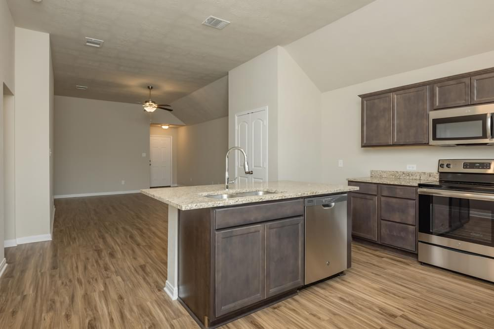 Kitchen featured in the S-1475 By Stylecraft Builders in Killeen, TX