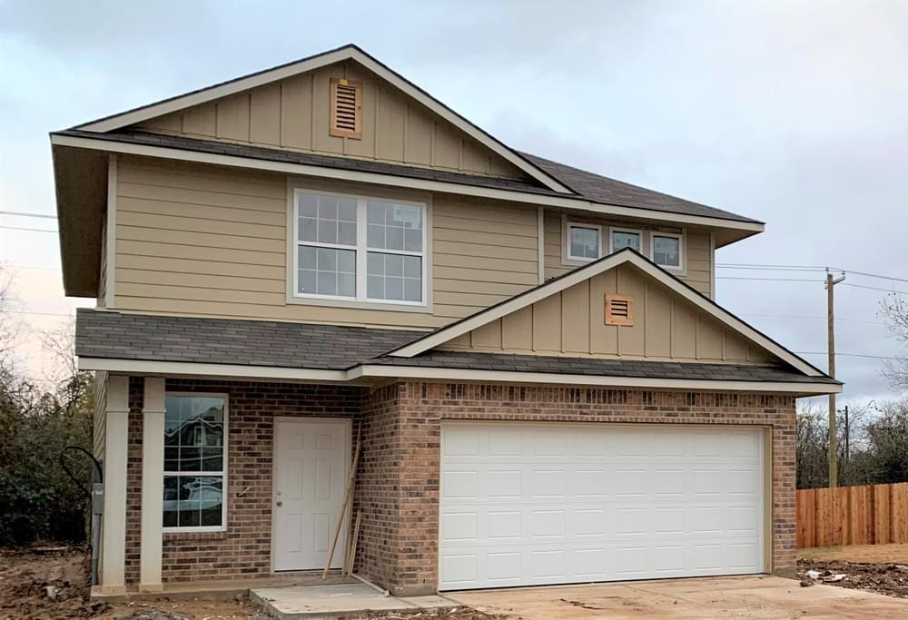 Exterior featured in the S-1874 By Stylecraft Builders in Waco, TX