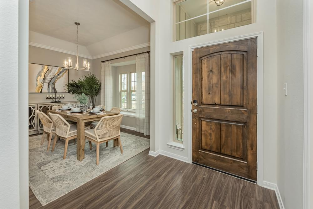 Living Area featured in the 1613 By Stylecraft Builders in Bryan-College Station, TX