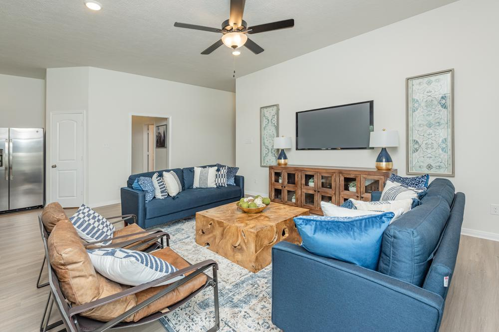 Living Area featured in the S-1514 By Stylecraft Builders in Waco, TX