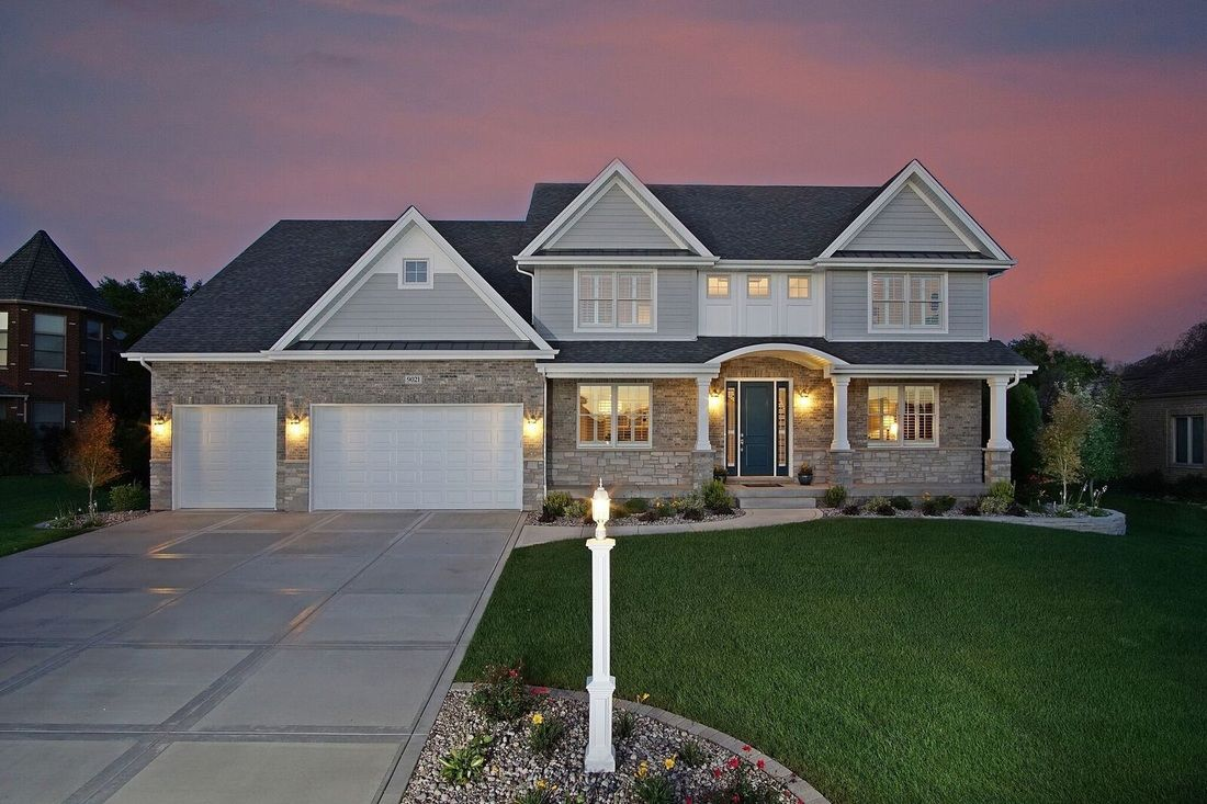 Exterior featured in the Colette By Sublime Homes in Gary, IN