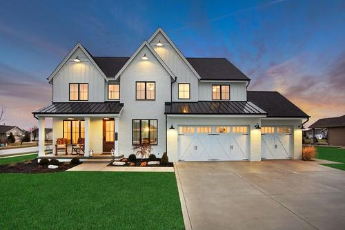 Manors at Walden Clearing by Sublime Homes in Gary Indiana