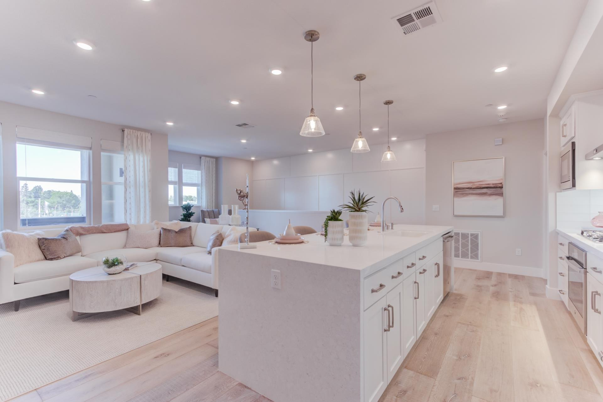 Living Area featured in the Terraces Plan 1 By SummerHill Homes in San Jose, CA