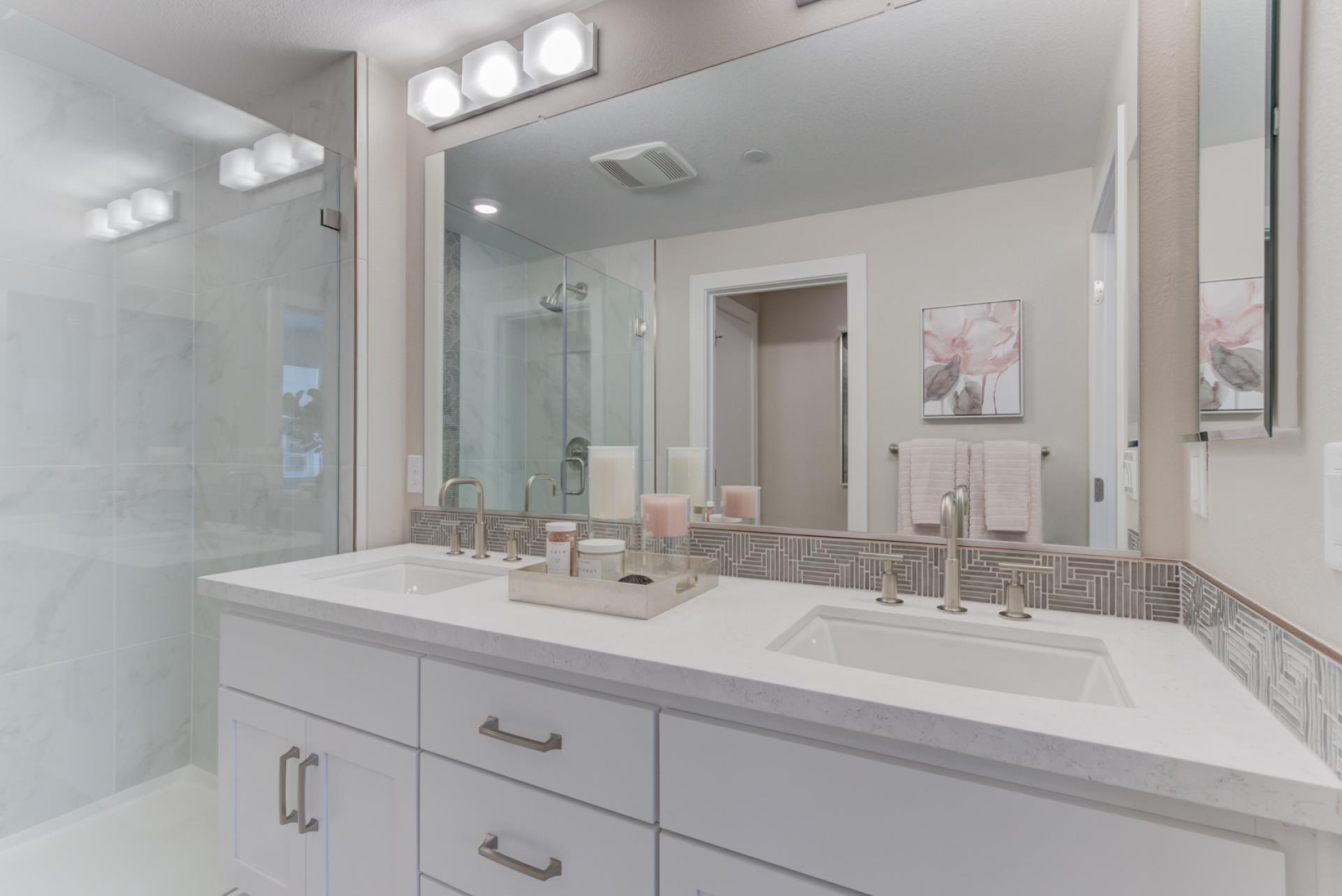 Bathroom featured in the Terraces Plan 1 By SummerHill Homes in San Jose, CA