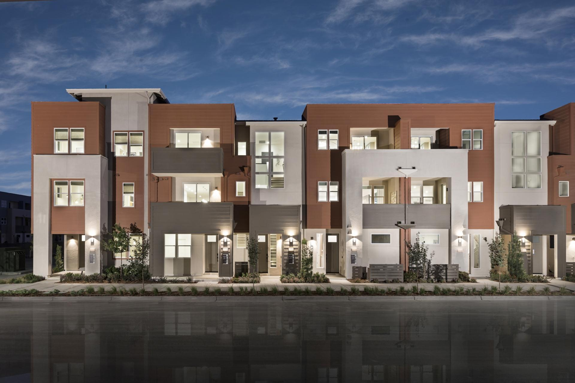 Exterior featured in the Terraces Plan 5 By SummerHill Homes in San Jose, CA