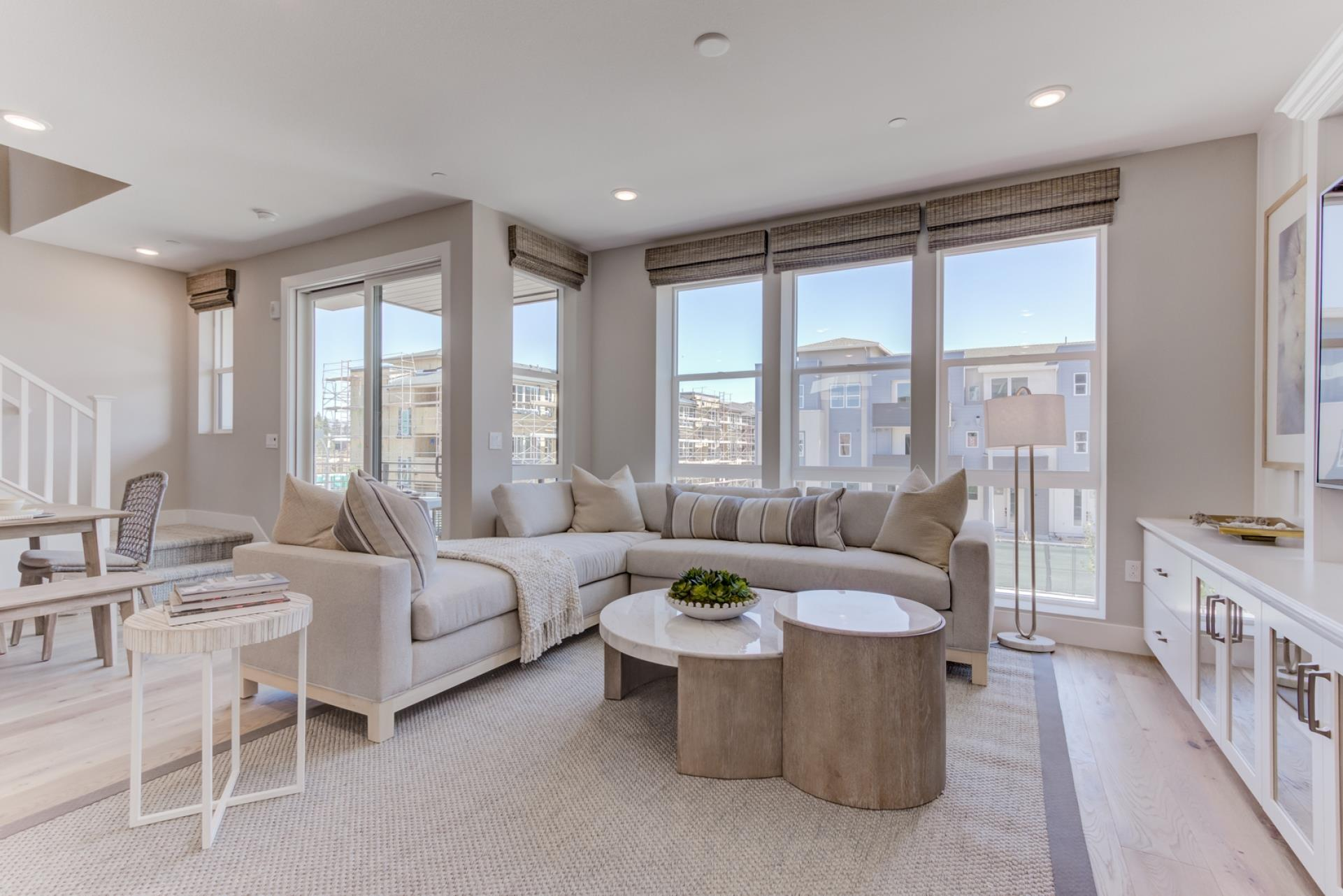 Living Area featured in the E-Town 1 By SummerHill Homes in San Jose, CA