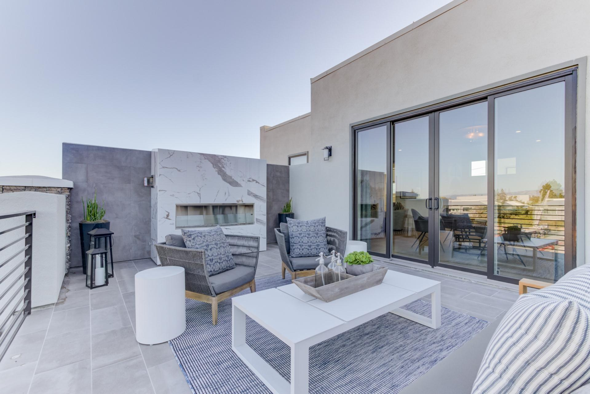 Exterior featured in the E-States Plan 3 By SummerHill Homes in San Jose, CA