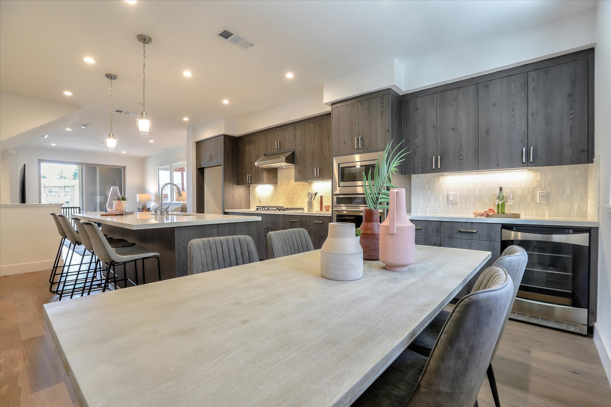 Kitchen featured in the Marquetta Residence 1 By SummerHill Homes in San Jose, CA