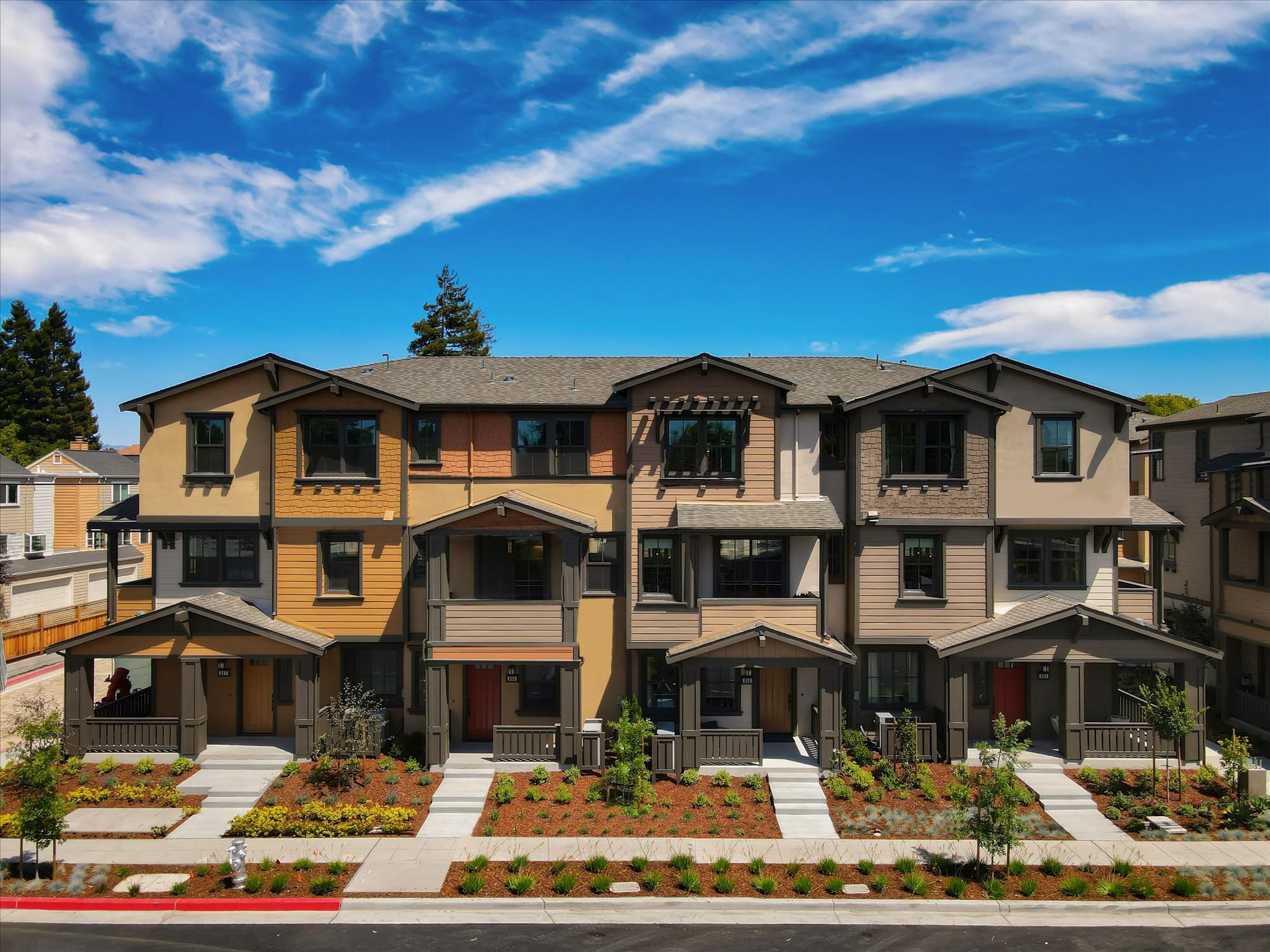 Exterior featured in Thea Residence 2 By SummerHill Homes in San Jose, CA