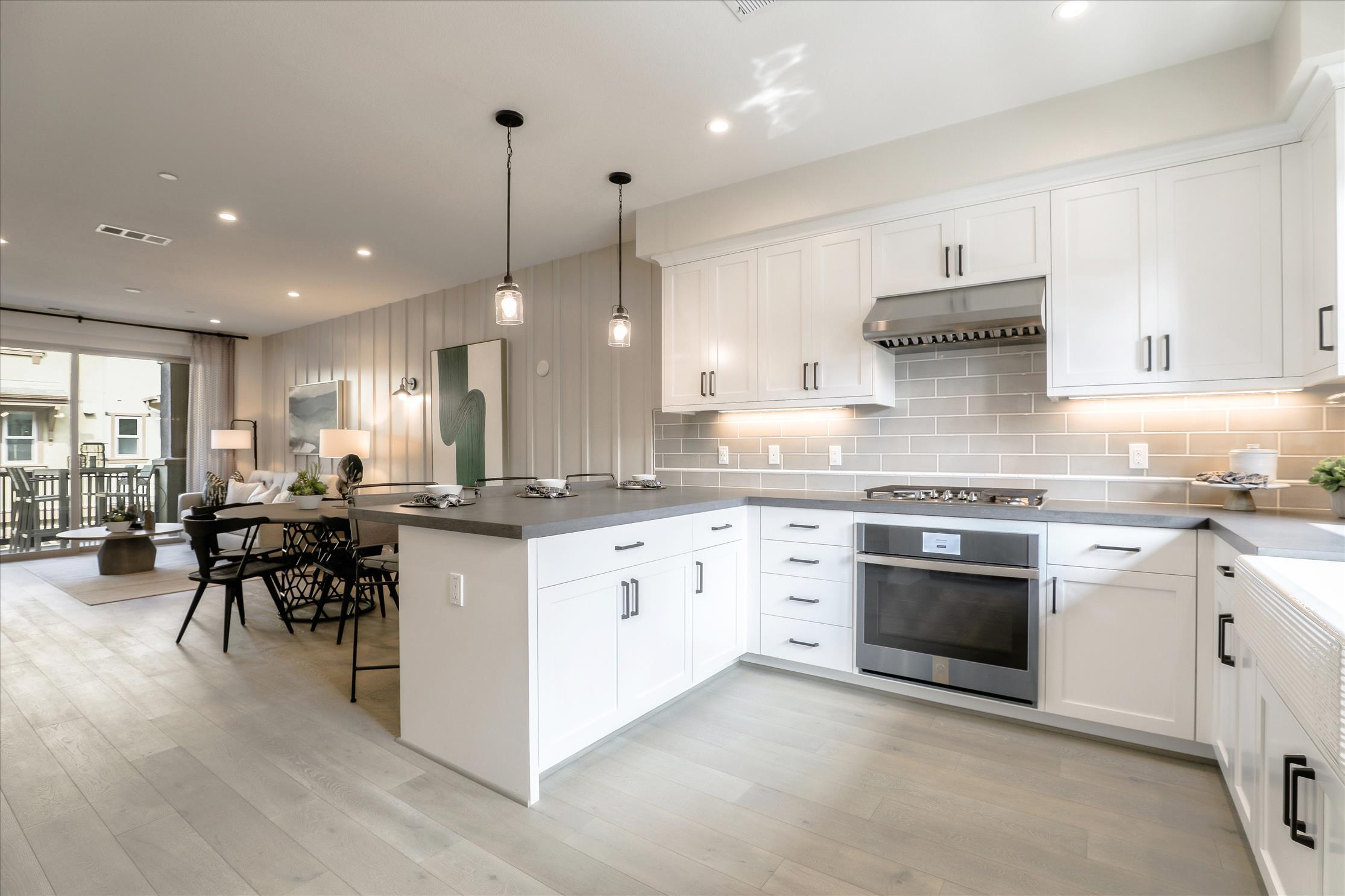Kitchen featured in the Marquetta Residence 2 By SummerHill Homes in San Jose, CA