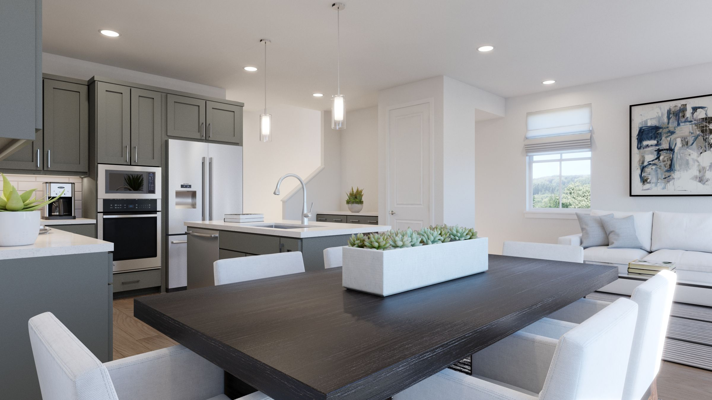 Kitchen featured in the PLAN TWO By SummerHill Homes in San Jose, CA