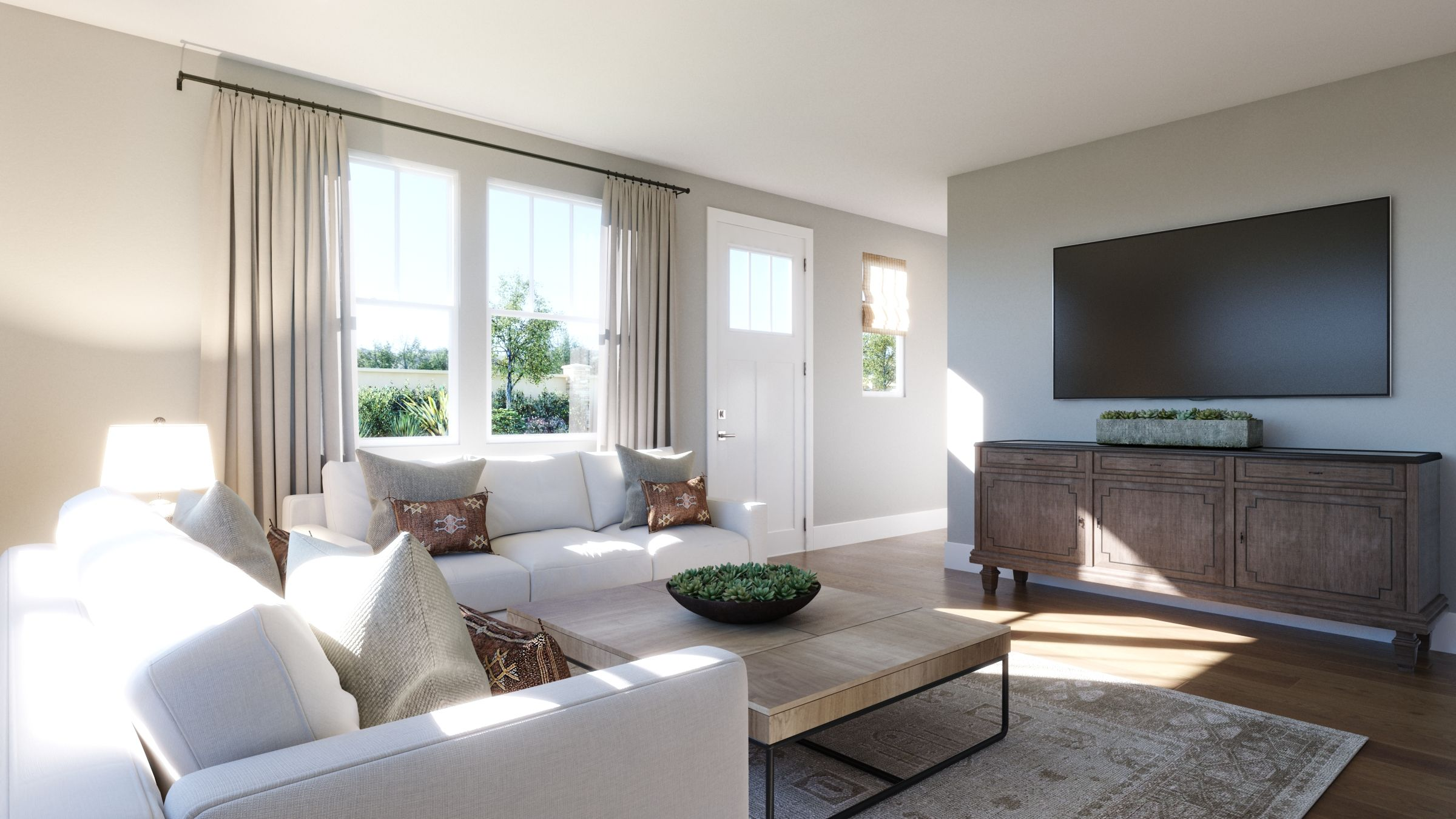 Living Area featured in the 1D By SummerHill Homes in San Jose, CA