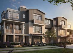 The Towns- Plan 1-R - Bellaterra: Los Gatos, California - SummerHill Homes