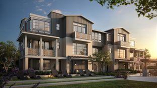 The Towns- Plan 3 - Bellaterra: Los Gatos, California - SummerHill Homes