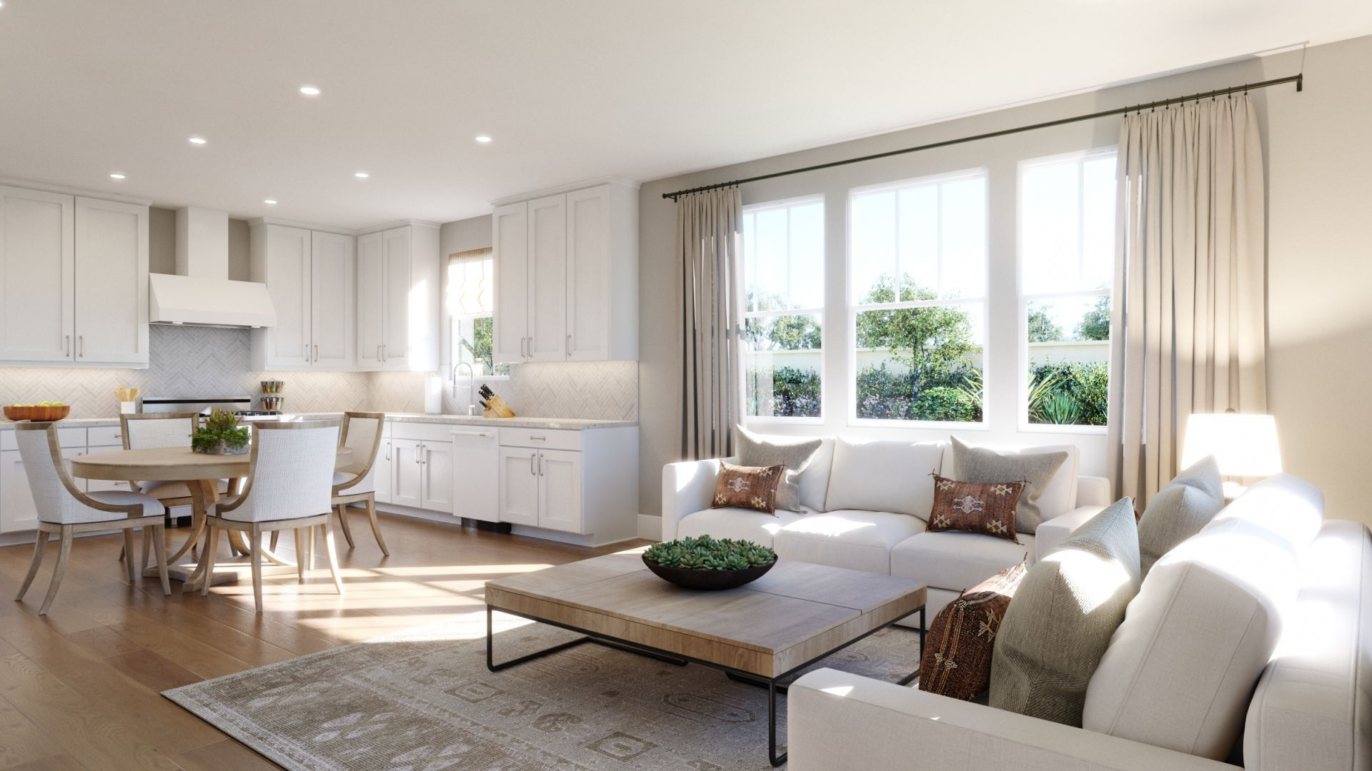 Living Area featured in the 1E By SummerHill Homes in San Jose, CA
