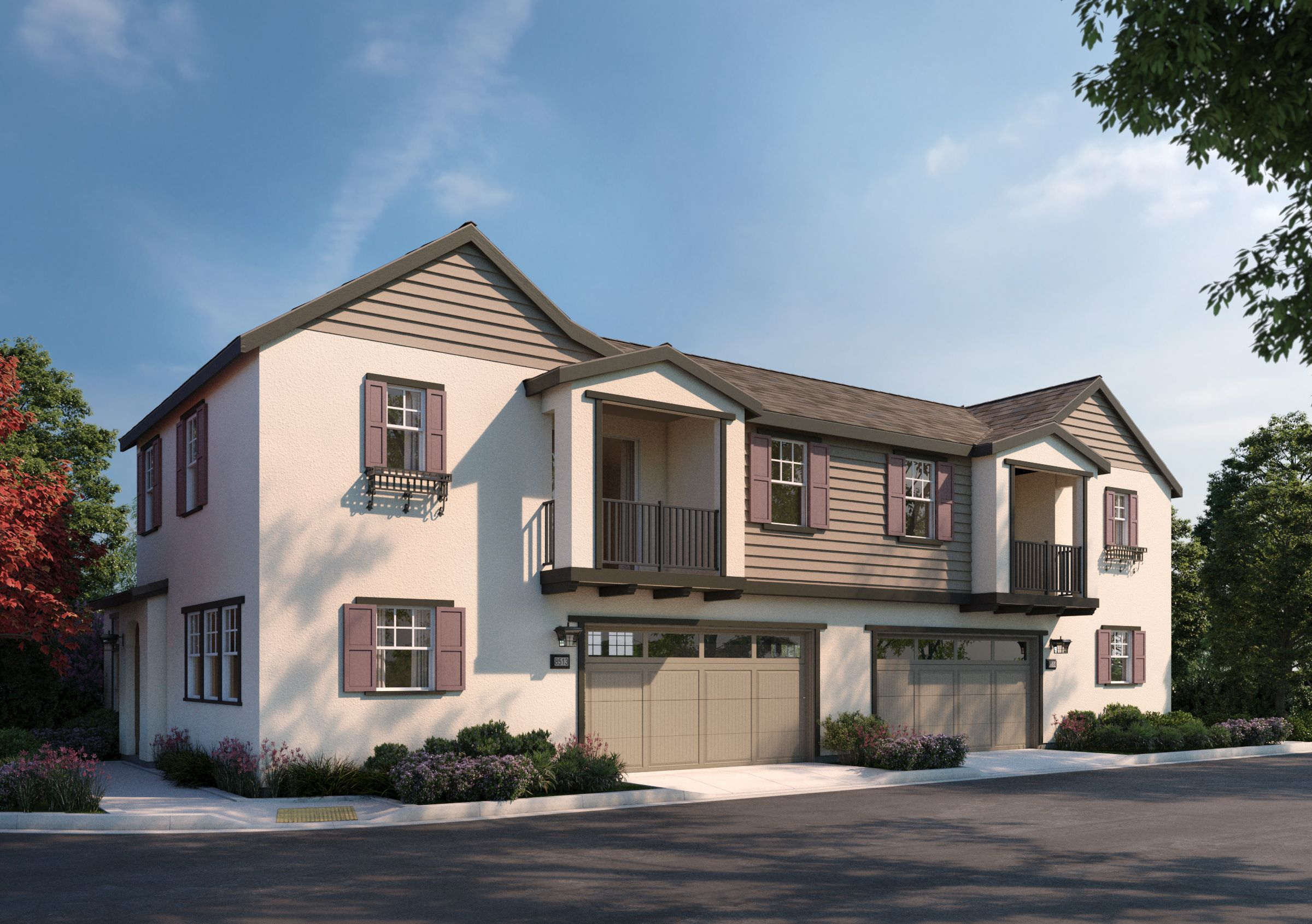 Exterior featured in the 2X By SummerHill Homes in San Jose, CA