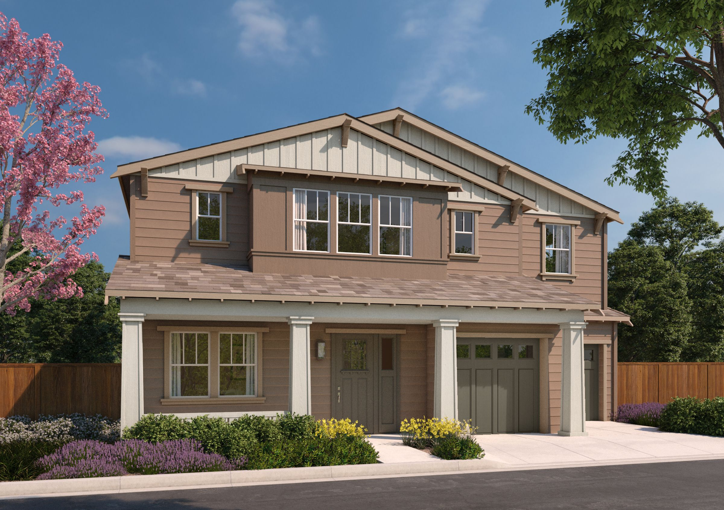 Exterior featured in the 7D By SummerHill Homes in San Jose, CA