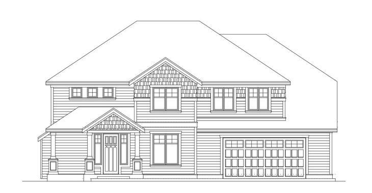 Hastings -Floor Plan 2905 Lot 9 :Elevation