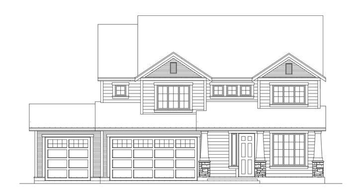 Hastings -Floor Plan 3105 Lot 7:Elevation
