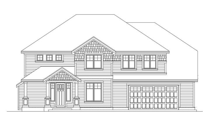Hastings -Floor Plan 3168 Lot 2:Elevation