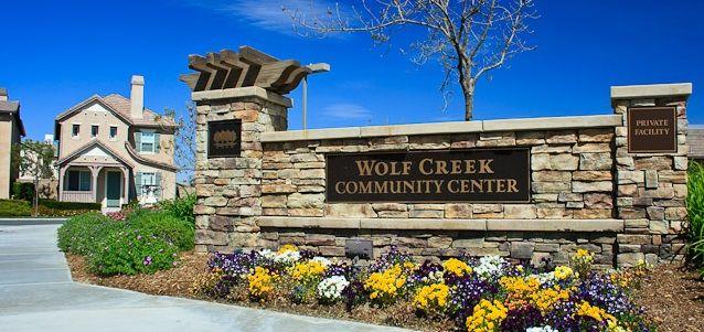 Estates of Wolf Creek Monument