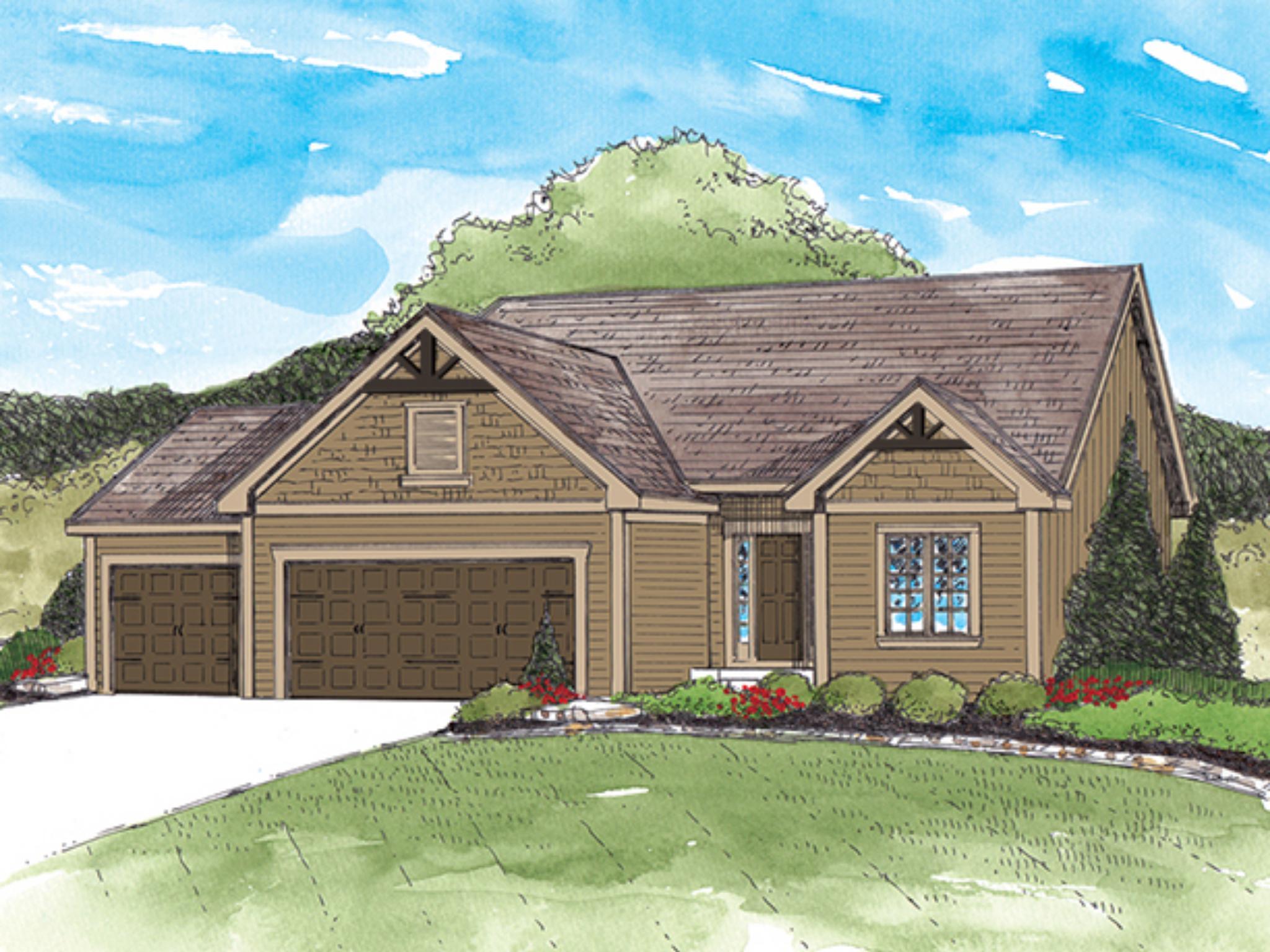 New Construction Homes Plans In Gardner Ks 413 Homes