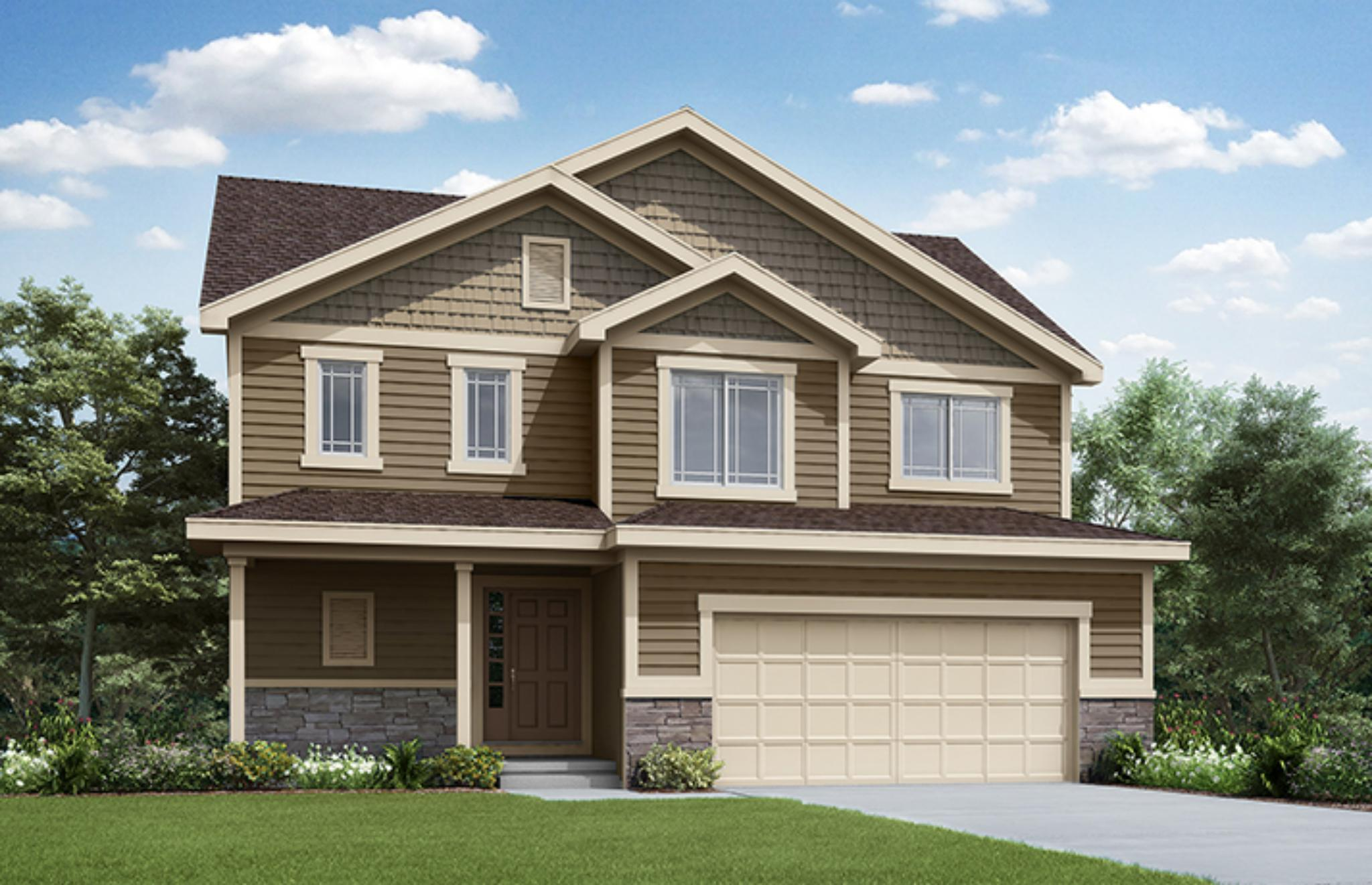 'Twin Oaks' by Summit Homes KC in Kansas City