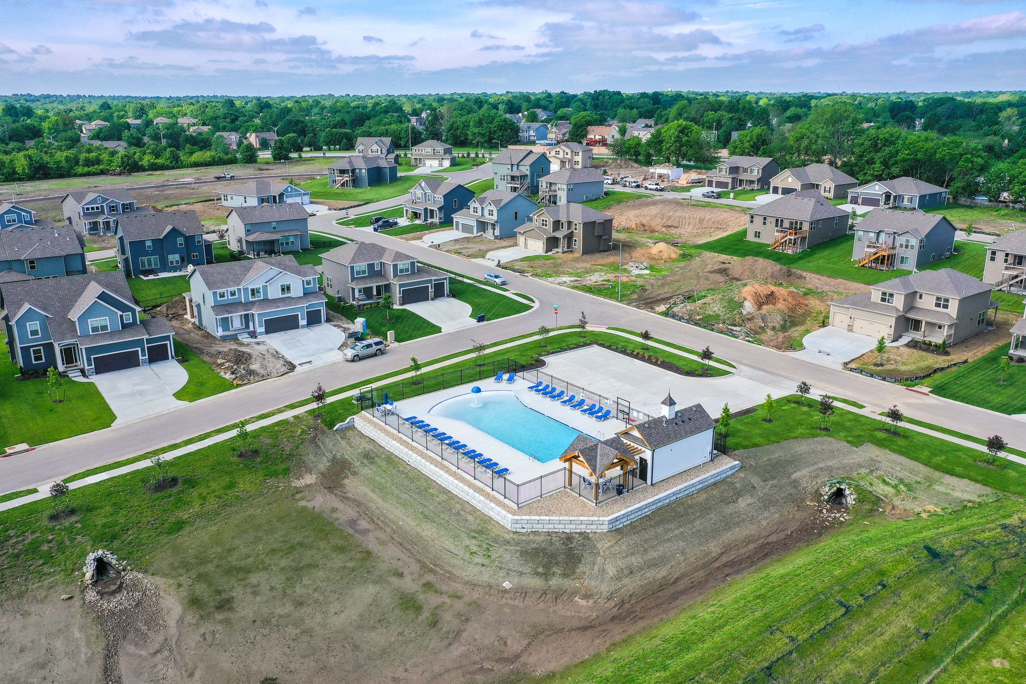 'North Park Village' by Summit Homes KC in Kansas City