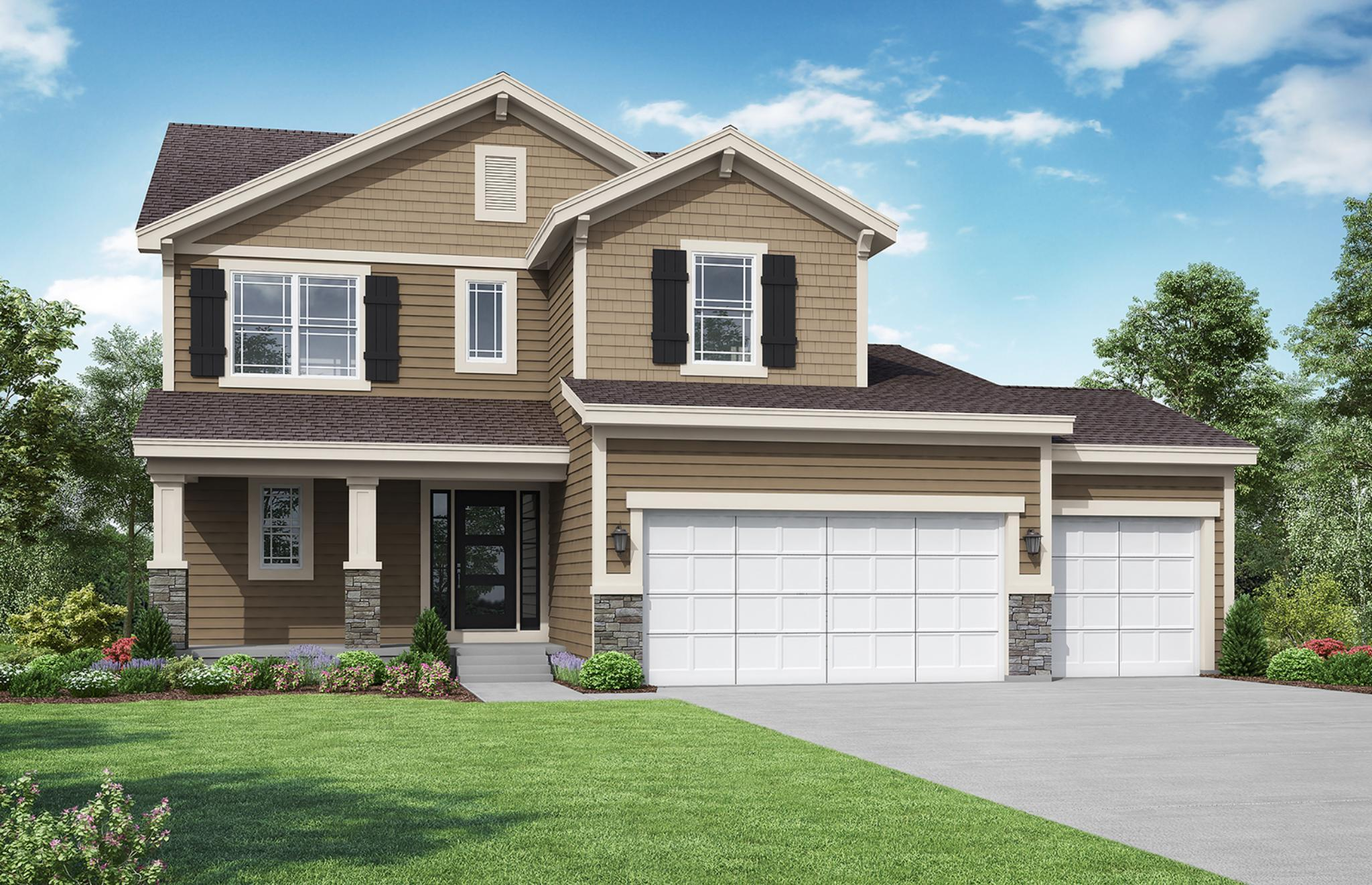 Exterior featured in the Bayfield By Summit Homes in Kansas City, MO