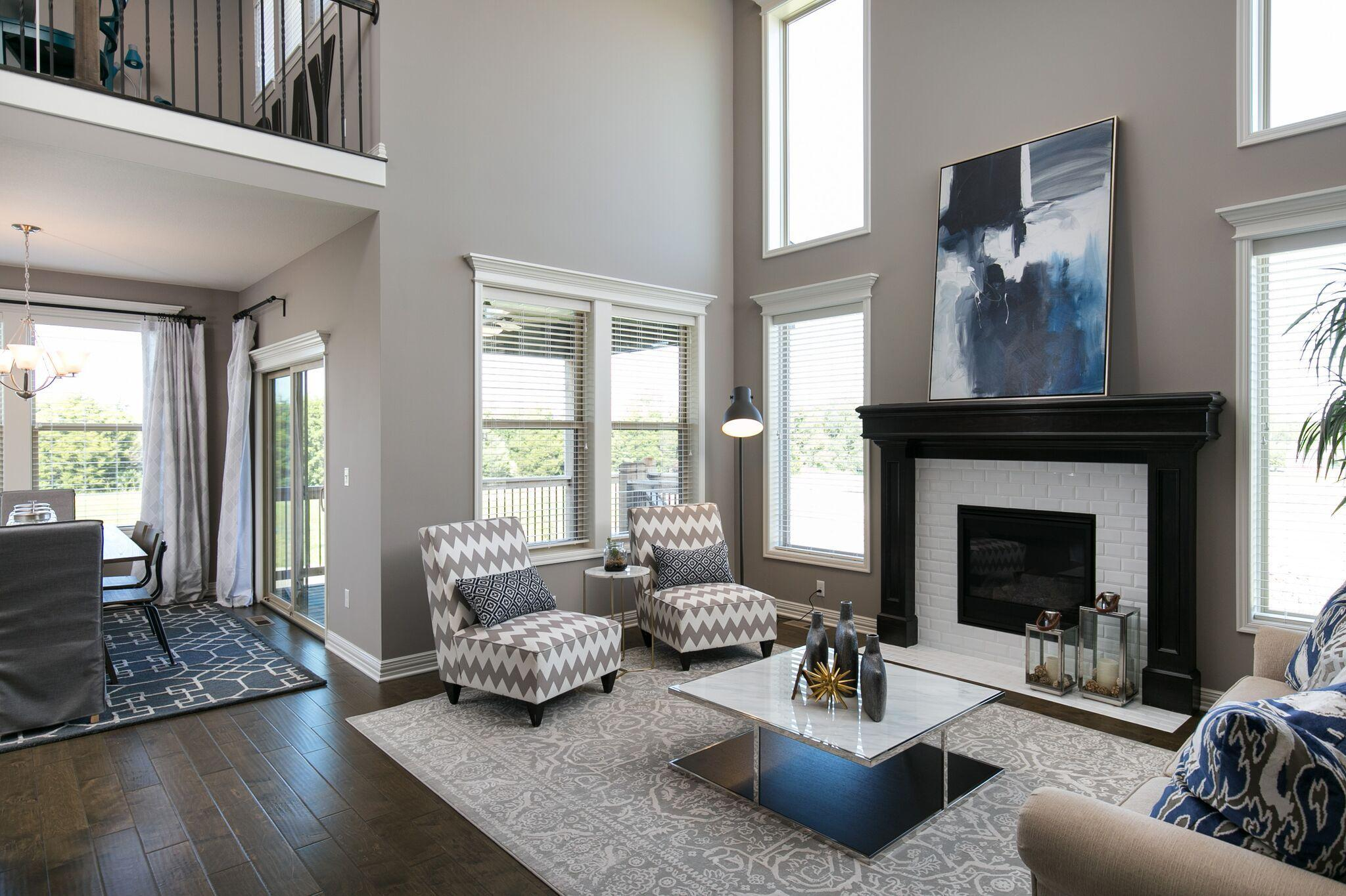 Living Area featured in the Bayfield By Summit Homes in Kansas City, MO