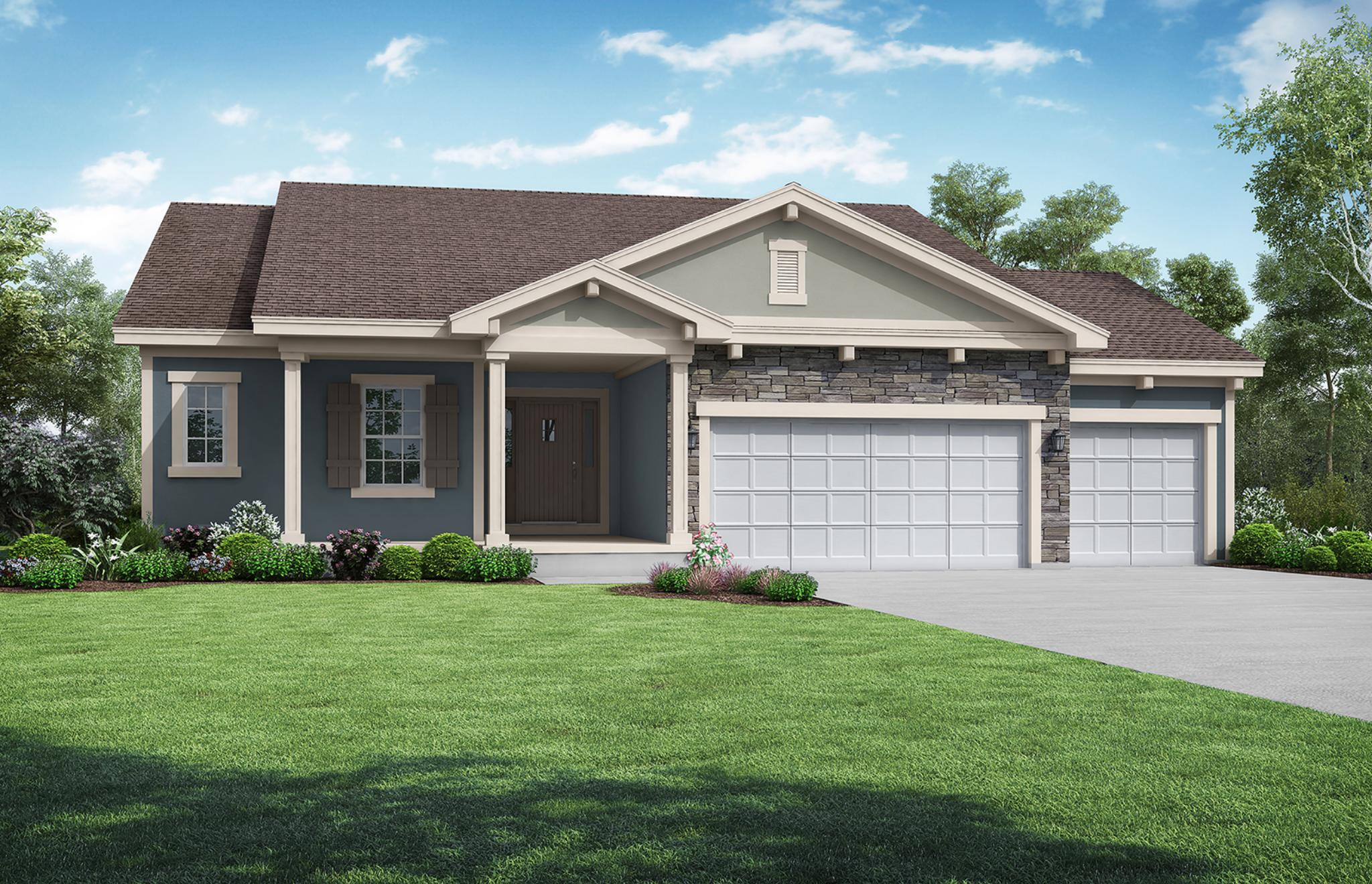 Exterior featured in the Carbondale By Summit Homes in Kansas City, MO