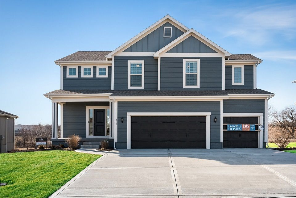 Exterior featured in the Palmer By Summit Homes in Kansas City, MO