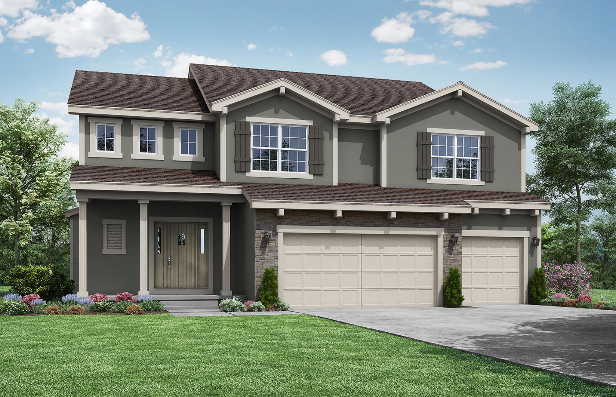 Exterior featured in the Palmer II By Summit Homes in Kansas City, MO
