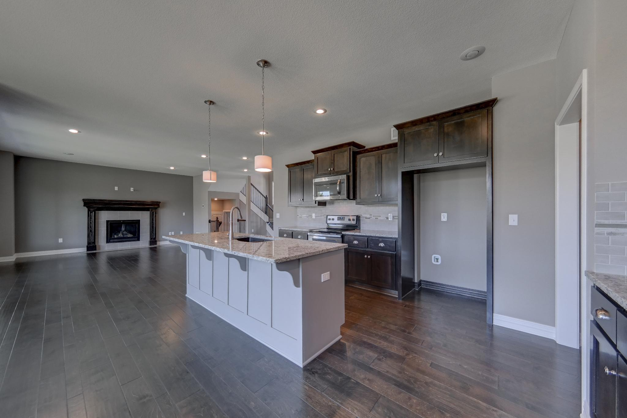 Kitchen featured in the Palmer II By Summit Homes in Kansas City, MO