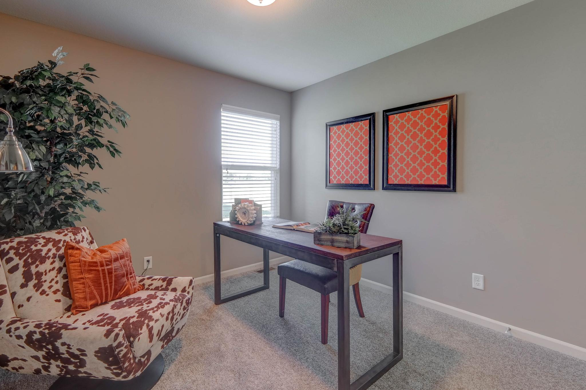 Living Area featured in the Roanoke By Summit Homes in Kansas City, MO