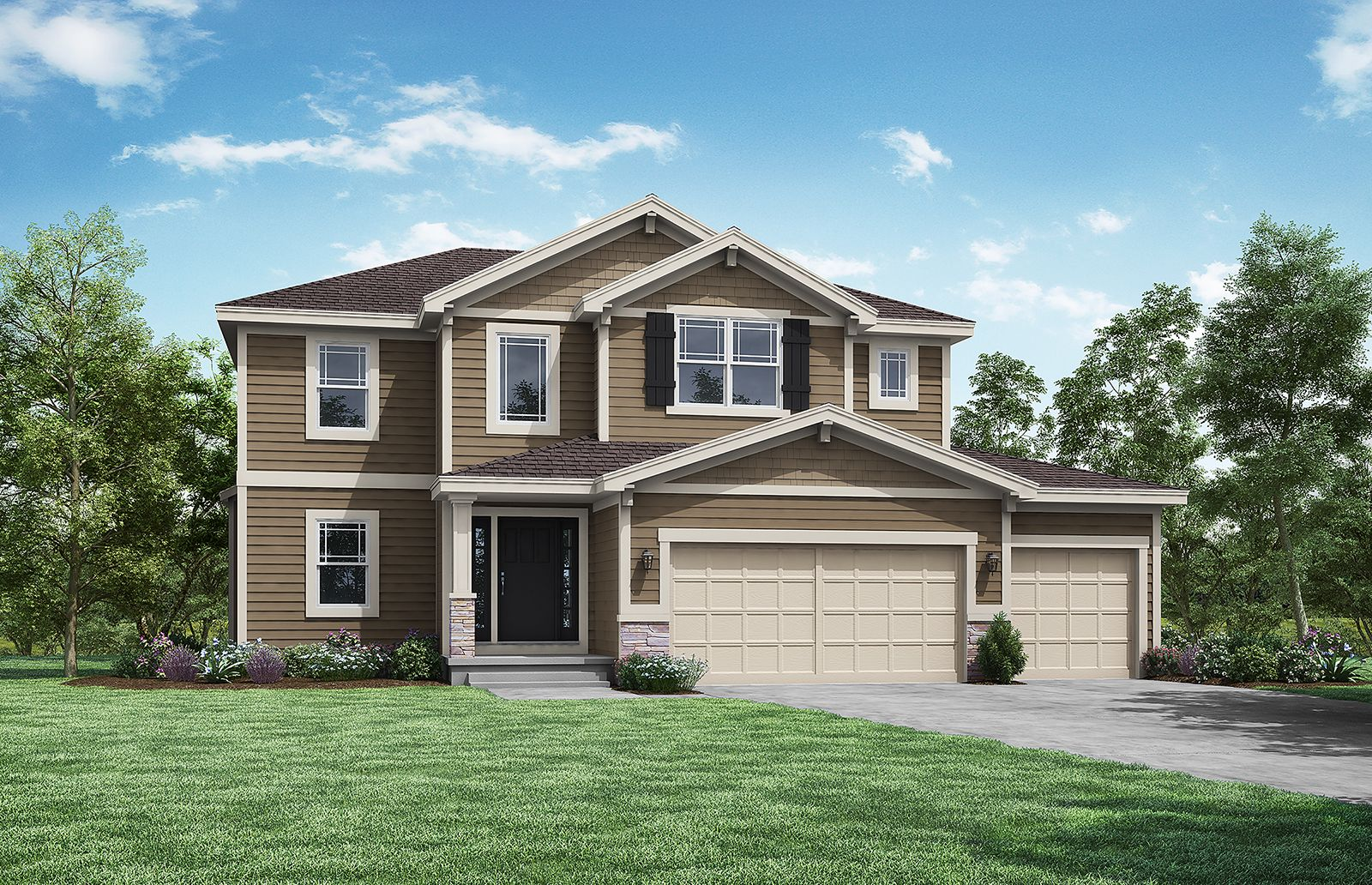 Exterior featured in the Woodbridge By Summit Homes in Kansas City, MO