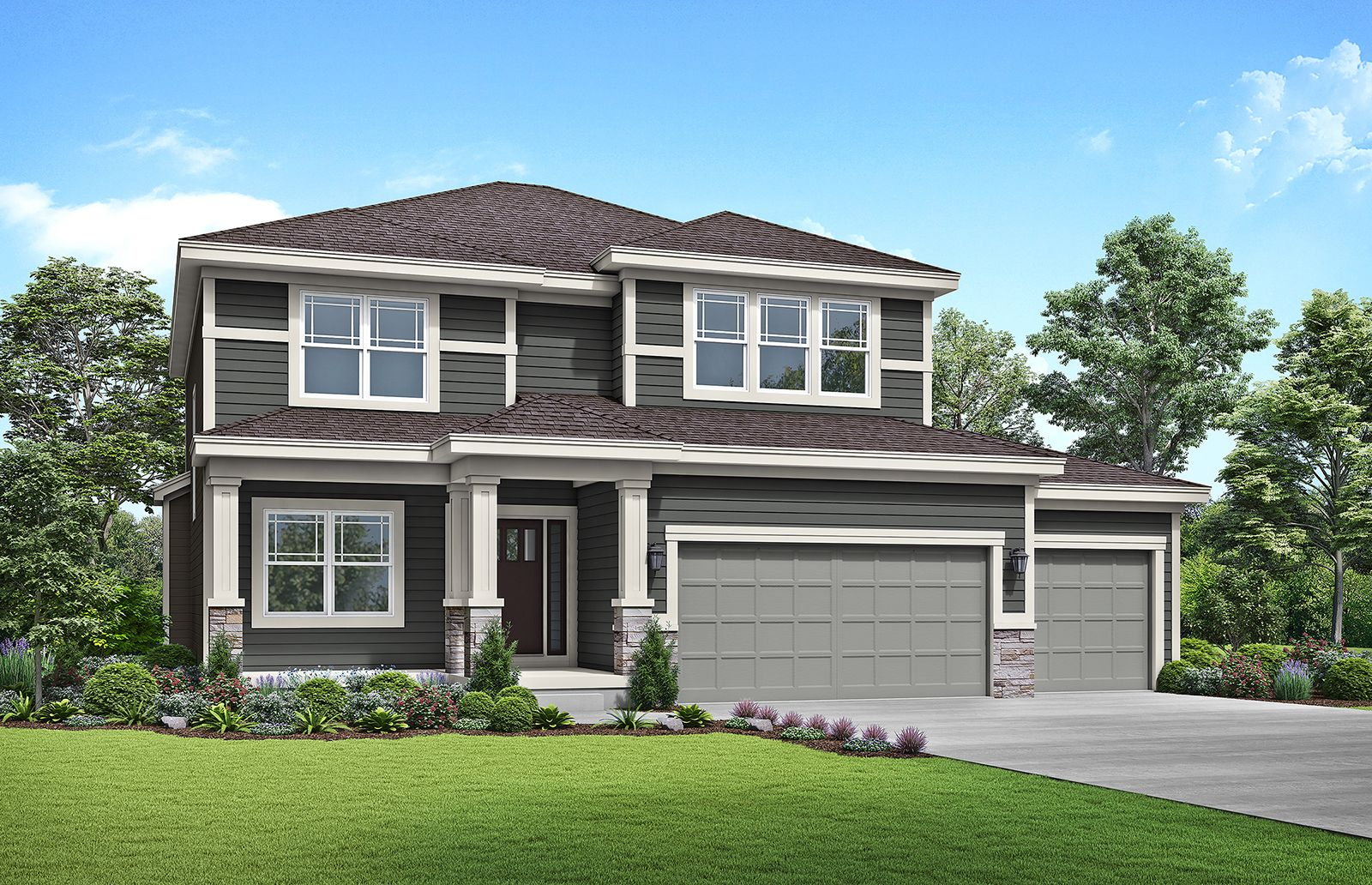 Exterior featured in the Winfield By Summit Homes in Kansas City, KS