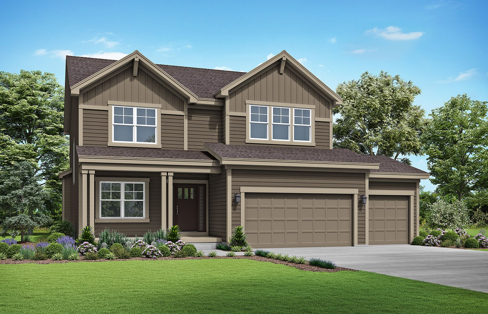 Exterior featured in the Winfield By Summit Homes in Kansas City, MO