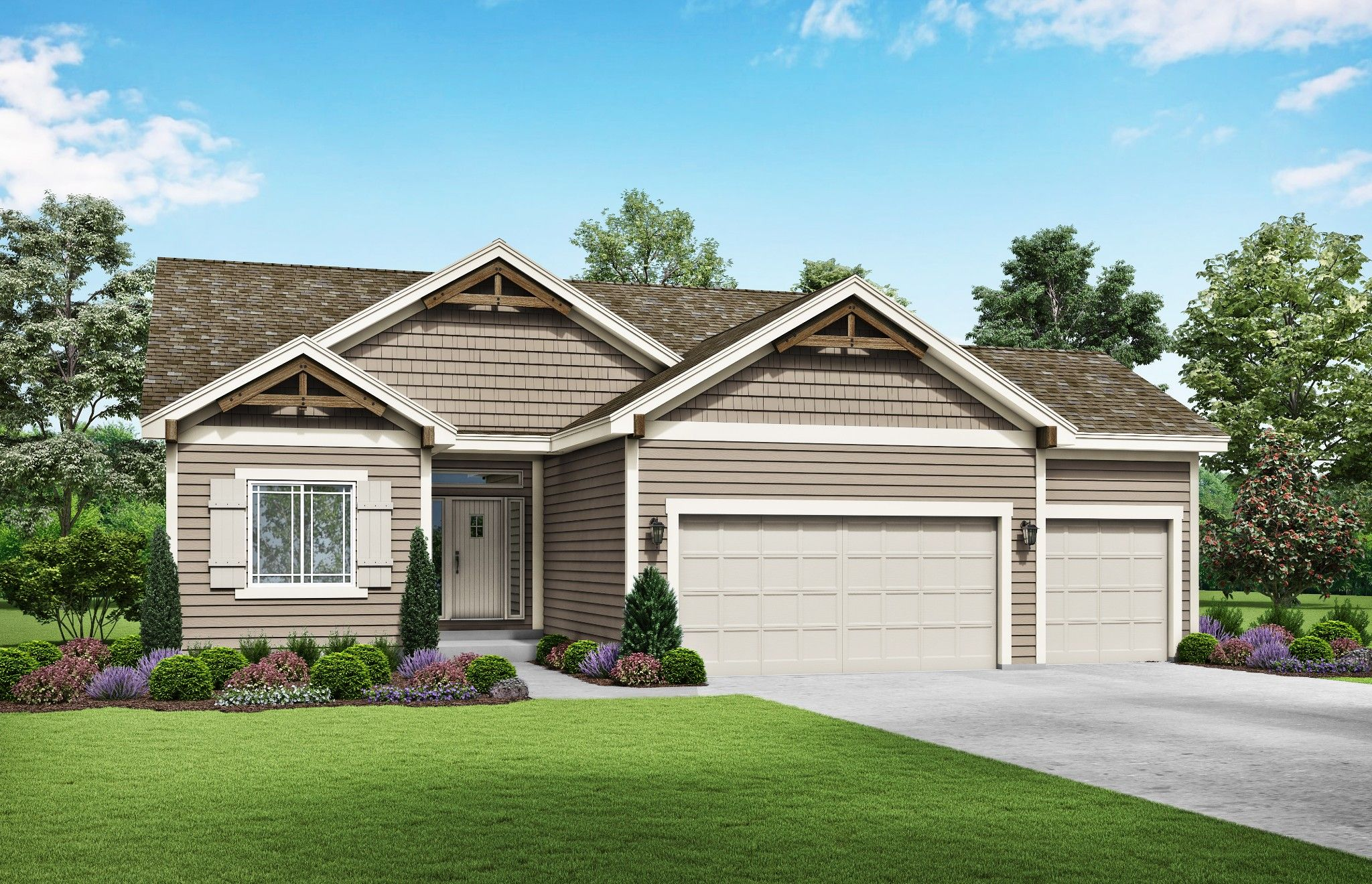 Exterior featured in the Charlotte By Summit Homes in Kansas City, MO